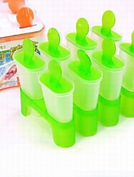 8 Case DIY Classic Popsicle Mould Ice Cream Mould