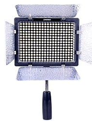 YONGNUO YN300-II LED-Videoleuchte / Superbright High-Power-LED-Lampe 18W / 3200K-5500K Farbtemperatur einstellbar - Schwarz