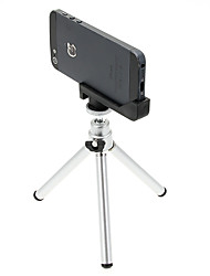 Mini Desktop Aluminum Tripod with Double-deck Three Sections & & iPhone 5S/5 Tripod Mount Holder