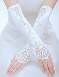 Elbow Length Fingerless Glove Tulle Bridal Gloves/Party/ Evening Gloves