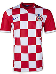 2014 World Cup World Cup Jerseys Croatia Home Game Red and White