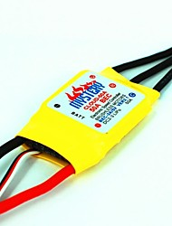 Mystery Cloud 50A brushless ESC With 2A BEC RC Speed Controller for RC Helicopter Airplane