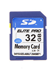 Elite Pro de haute qualité SDHC 32GB carte de mémoire SD