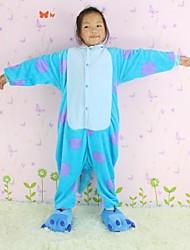 NEWCOSPLAY Sullivan flanela versão WC Crianças Kigurumi Pajama