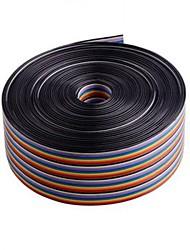 10m 40 broches Fil ruban d'essais / arc-en-câble