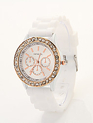 Cdong Diamonade Silicone Watch JY-63
