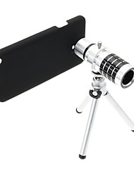 Zoom 12X Telephoto Aluminum Cellphone Lens with Tripod for Samsung Note3