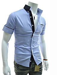 Lacle Men's Fashion Causual Shirt