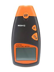 MD912 Digital LCD Medidor de umidade de madeira higrômetro Tester (2% ~ 60%, 0,5%, 1 * 9V)