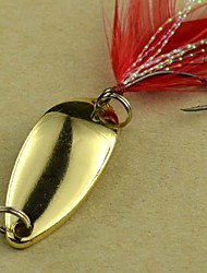 Hot Sale New 4g/3.2cm Metal Spoon Fishing Lures(15pcs)