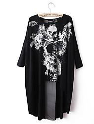 Damenmode Shirts Schädel Printed