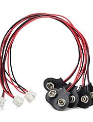 9V Battery Buckles Turn I Interface for 9V Battery (5Pcs)