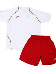 les maillots de football de l'enfant (blanc et rouge)