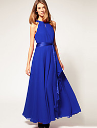 Women's Dresses , Chiffon Casual/Work SENBO