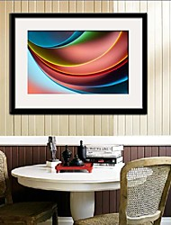 Brilliant Color Framed Canvas Print