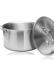 meinuoqi ® 3 camadas de aço de 16 qt panela de sopa com tampa, w27cm x l34cm x h17cm