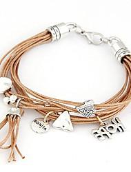Korean Fashion Ladies Wild Metal Parts Bracelet