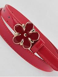 Women Waist Belt , Casual Alloy/Leather