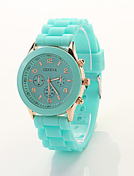 Cdong Korean Sports Silicone Watch (Mint Green)