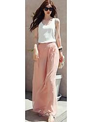 De las mujeres FLB Maxi gasa Pantalones C1089