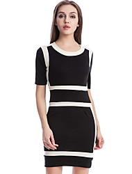 Women's Dresses , Polyester Casual/Work Shengyuan