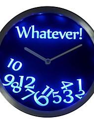 Was auch immer nc0464 Time Bar Bier Ruhestand Geschenk Decor Neon LED Wanduhr