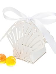 12 Piece/Set Favor Holder - Shell Pearl Paper Favor Boxes