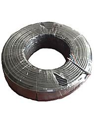 150Feet (50M) сиамских кабель w/RG-59 & 2 Copperwires для власти