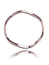 (1 Pc)Sweet Unisex   Couple Rings(Golden)