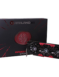 DATALand R9 270X 2G DDR5 Standalone Graphics and Video Card for PC Game Card