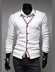 Novo estilo de negócio dos homens Fengshang E Casual duas peças como camisa branca
