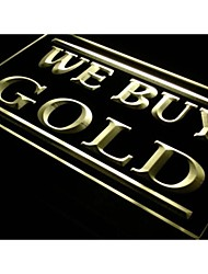j111 We Buy Gold Jewelry Shop Lure Neon Light Sign