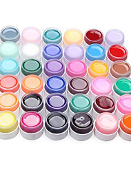 36PCS Manicure Special Nail Pure Color Mix UV Color Gel Kits(8ml)