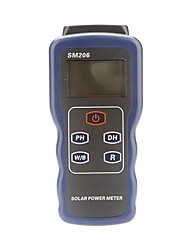 Digital Solar Power Meter Solar Radiation Tester Light Intensity Measurement (0.1~3999W/m2,0.1W/m2)