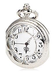 Mulheres Relógio de Bolso Relógio de Moda Quartzo Banda Prata marca
