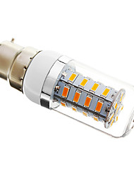 B22 4 W 36 SMD 5730 300 LM Warm White Dimmable Corn Bulbs AC 220-240 V