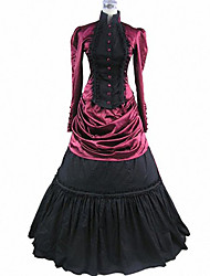 Mysterious Vampire Queen Bloody Red Gothic Lolita Dress
