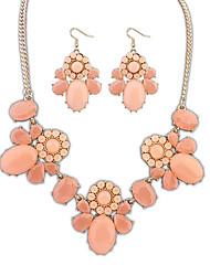 BTIME Women's Alloy Resin Fashion Jewelry Set 105247