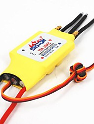 Mystery 2-3S Lipo 50A 5V/2A BEC Brushless Speed Controller ESC For RC Boat BEC50A/S With Water Cooler