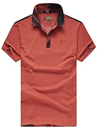 Men's Short Sleeve Polo , Cotton/Polyester Casual/Formal/Sport Striped