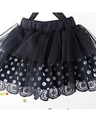 De la muchacha coreana del estilo de la falda de princesa Children balón vestido de encaje Edad