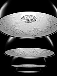 sl® luz pingente moderno em abajur preto