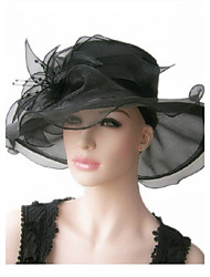 Gorgeous Organza With Sequin Wedding/ Partying/ Honeymoon Hat