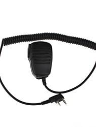 K11   Professional Walkie Talkie Microphone in Hand Shoulder Microphone Hand Microphone