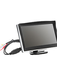 "5"" Security Parking Car Rear View TFT LCD Monitor+Wireless Night Backup Camera"