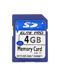 alta qualidade cartão de memória SD para dispositivos móveis e muito mais (azul) 4g