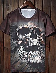 Gianny Herren 3D Printing Straße Cool Fashion T-Shirts