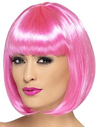 Capless Bob Style Synthetic Party Wig