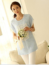 Maternity Clothes Fashion Short Sleeve T-shirt