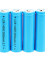 2000mAh 14500 Battery (4pcs)